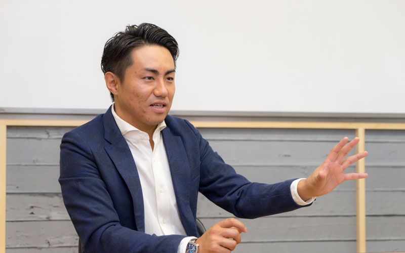 株式会社塚田農場プラス 森尾太一社長 インタビュー画像1-3