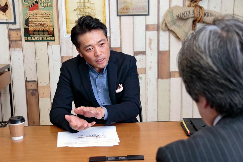 株式会社エー・ピーカンパニー 米山久社長 インタビュー画像1-2