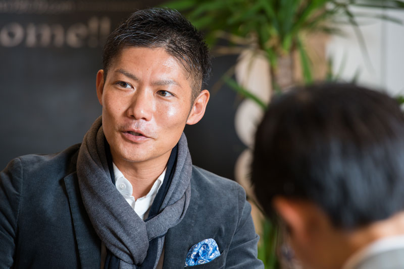 株式会社和久環組 鎌田友和 インタビュー画像1−4