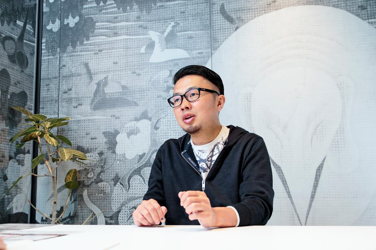 バレットグループ株式会社 小方厚社長 インタビュー画像1-1