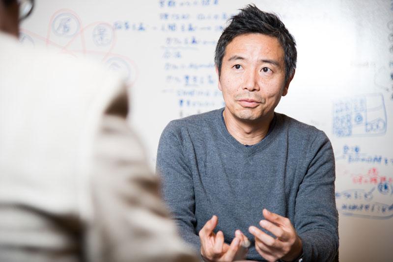 カフェ・カンパニー株式会社 楠本修二郎社長 インタビュー画像1-2
