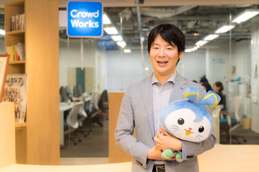 株式会社クラウドワークス 吉田浩一郎社長 インタビュー画像1−5