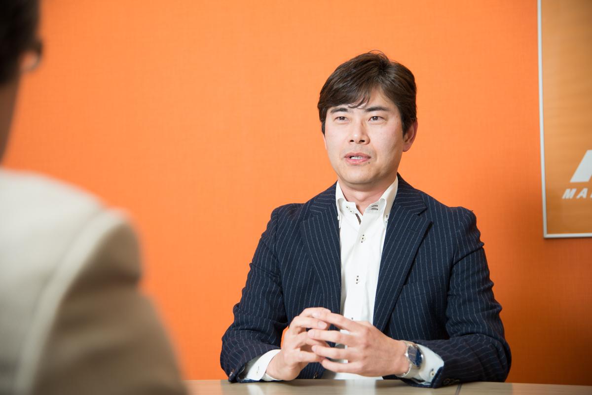株式会社エディア 原尾正紀社長 インタビュー画像1-2