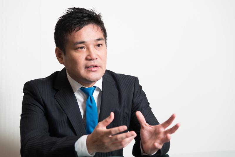 マネぷらホールディングス株式会社 岡崎泰旦社長 インタビュー画像1-1