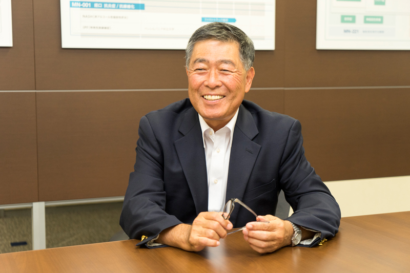 メディシノバ 岩城裕一社長 インタビュー画像1-2