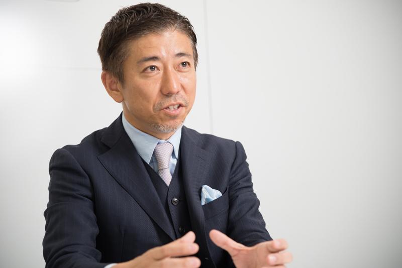 株式会社オプトホールディング 鉢嶺登社長 インタビュー画像1-1