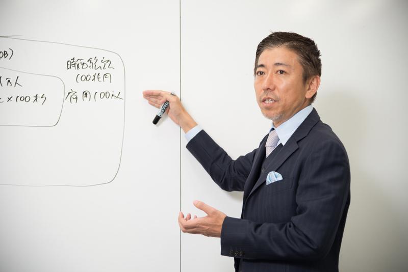 株式会社オプトホールディング 鉢嶺登社長 インタビュー画像1-3