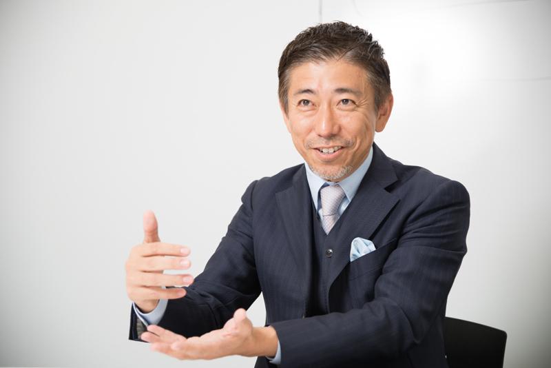株式会社オプトホールディング 鉢嶺登社長 インタビュー画像1-4