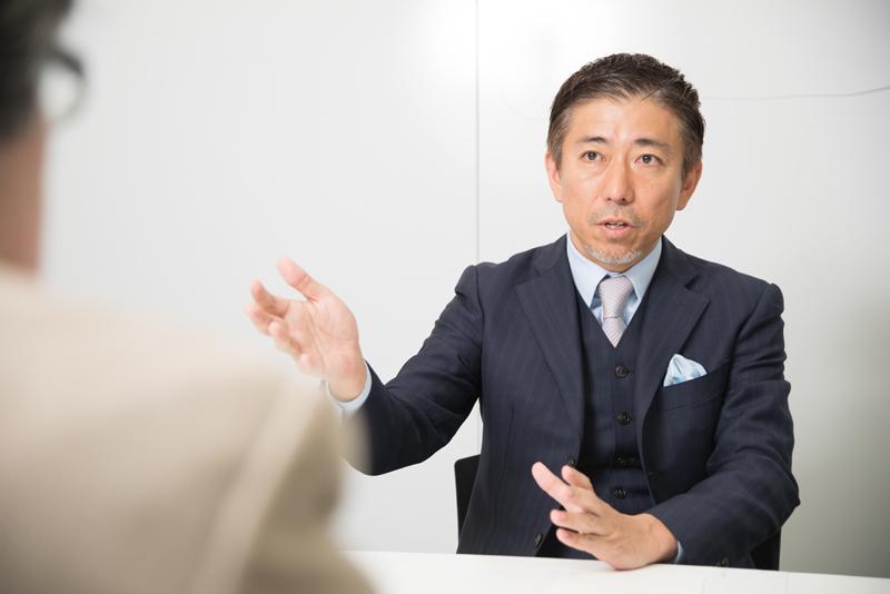 株式会社オプトホールディング 鉢嶺登社長 インタビュー画像1-5