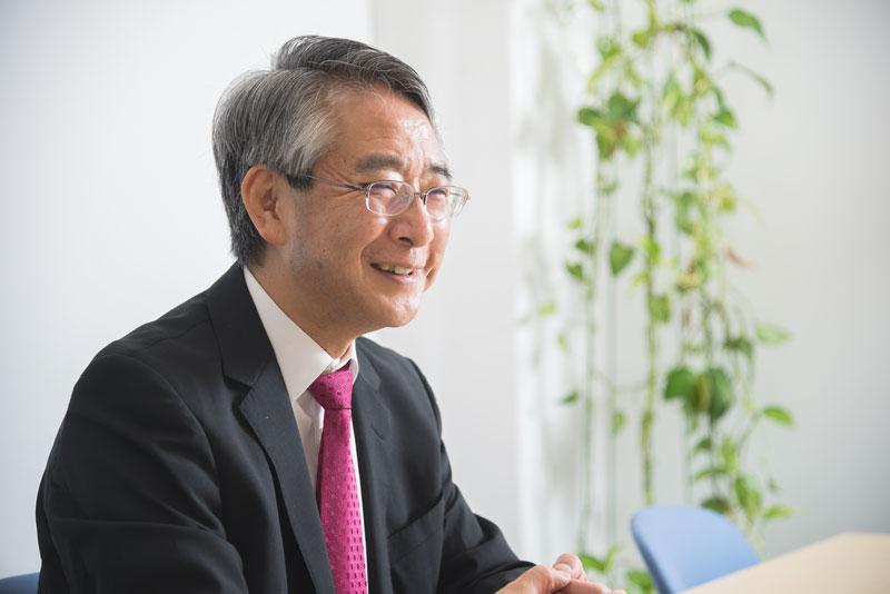 株式会社せおん 越純一郎社長 インタビュー画像1−3