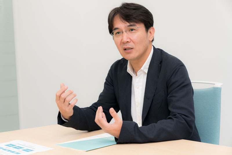 バリューコマース株式会社 香川仁社長 インタビュー画像1-1