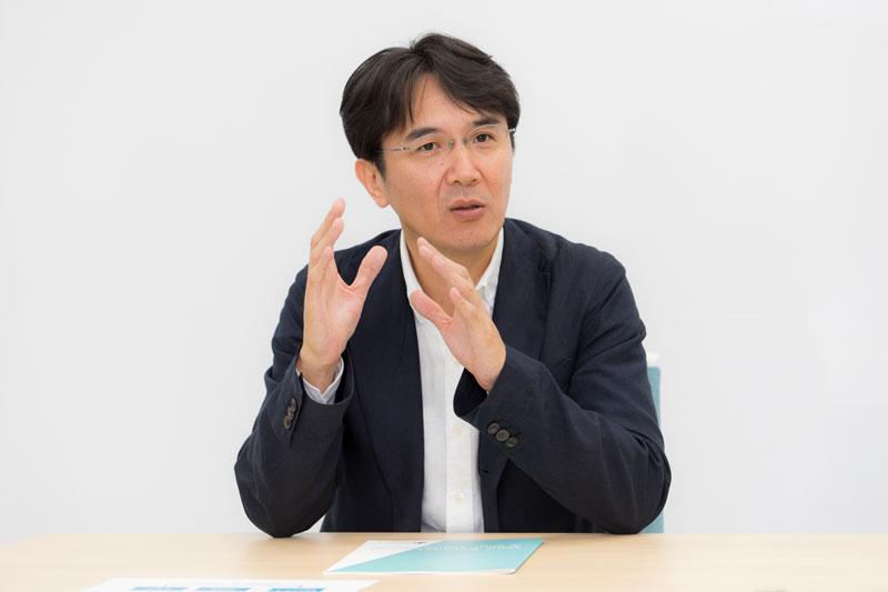 バリューコマース株式会社 香川仁社長 インタビュー画像1-3