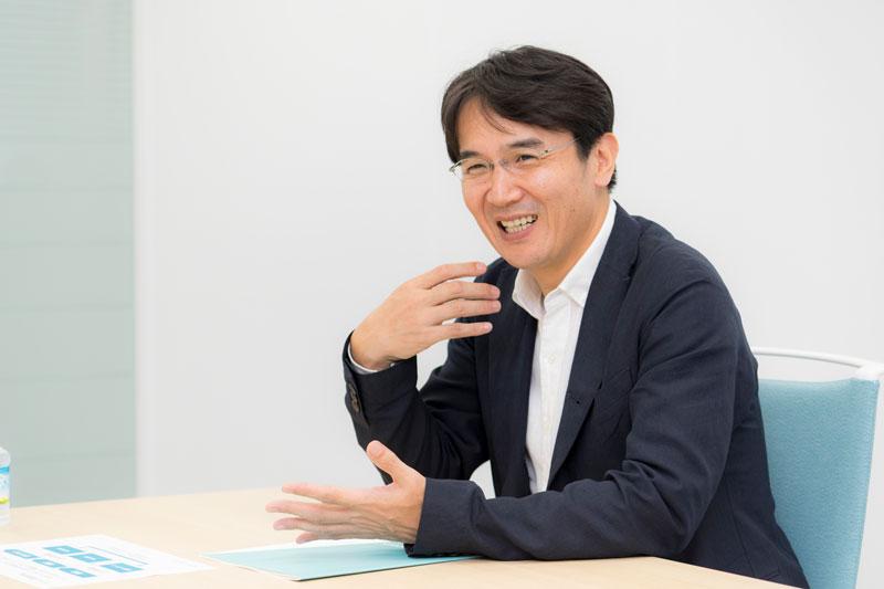 バリューコマース株式会社 香川仁社長 インタビュー画像1-4